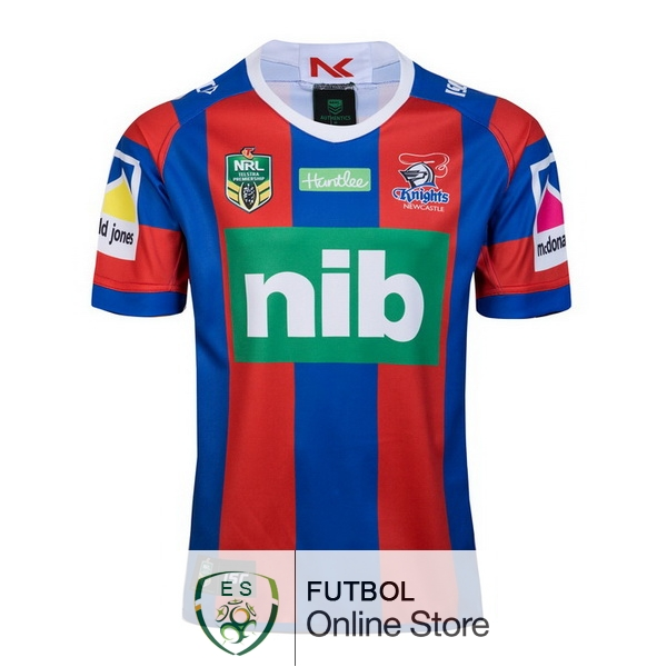 Rugby Camiseta Newcastle Knights 2018 Primera Rojo