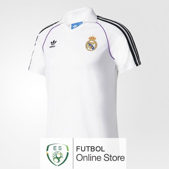 Polo Real Madrid Blanco 1 2017/2018