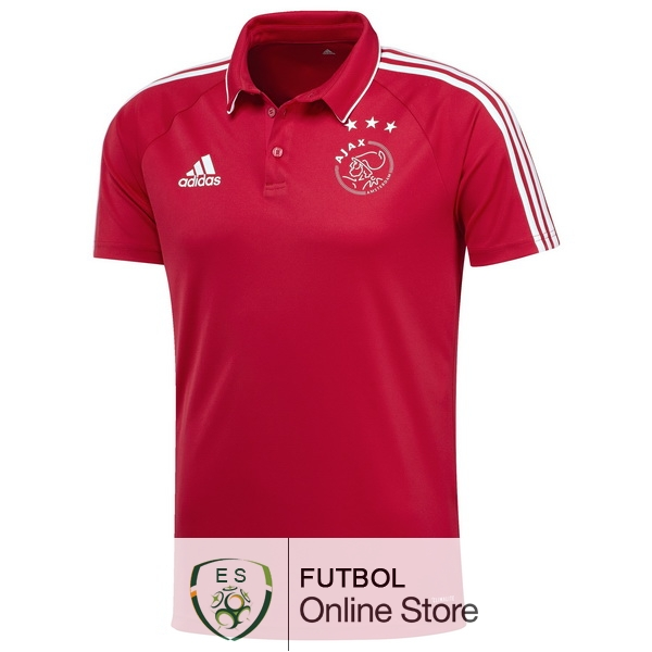 Polo Ajax Rojo 2017/2018