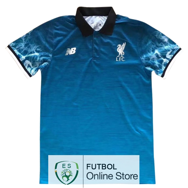 Polo Liverpool Azul 2017/2018