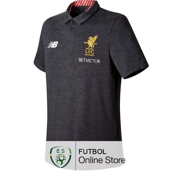 Polo Liverpool Gris 2017/2018