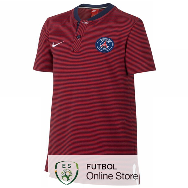 Polo Paris Saint Germain Rojo 2017/2018