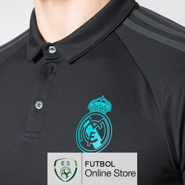Polo Real Madrid Negro 2017 2018  o291  - €19.50   536c1346b982a