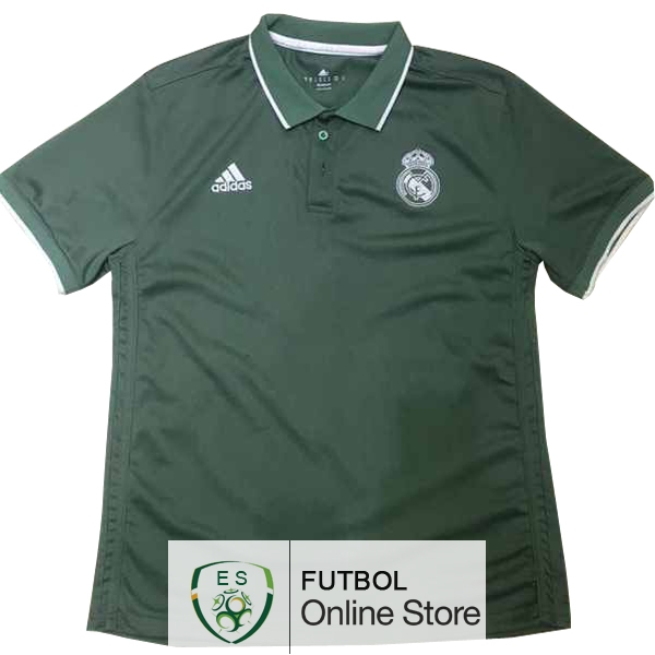 Polo Real Madrid Verde 2017/2018