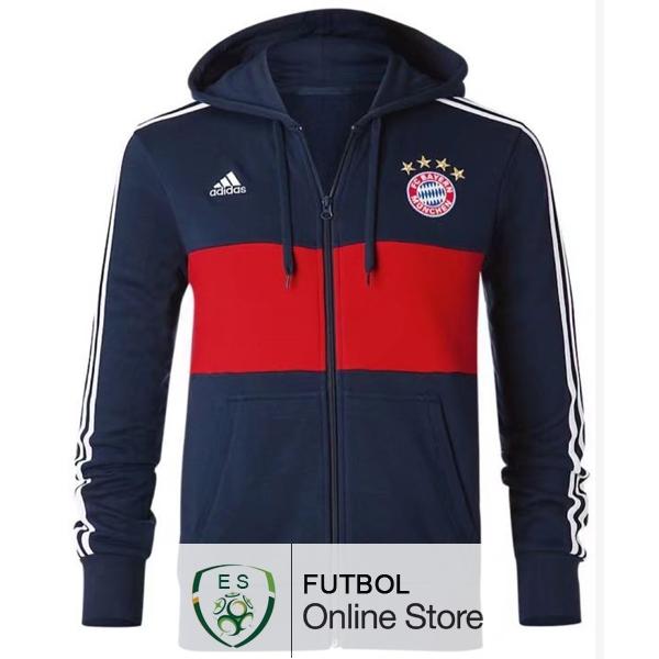 d7ed9ccb773 2017 18 Azul Sudaderas Con Capucha Bayern de Munich  w291  - €38.50