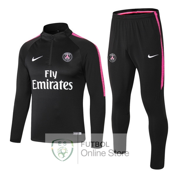 2018/19 Negro Rosa Blanco Chaqueta Ensemble Complet Paris Saint Germain