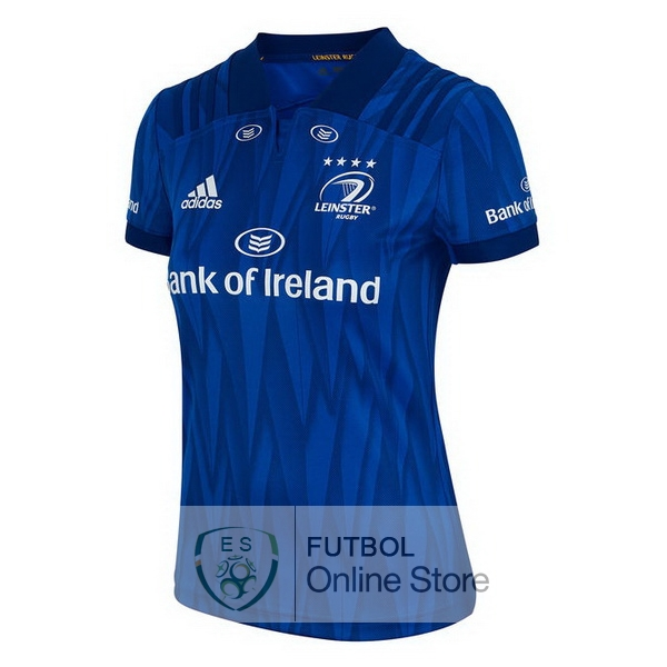 Rugby Camiseta Mujer Leinster 2018 Primera Azul