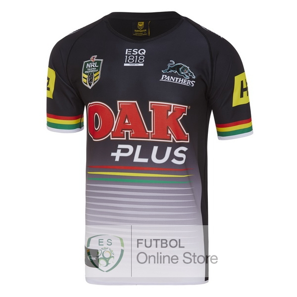 Rugby Camiseta Penrith Panthers 2018 Primera Negro