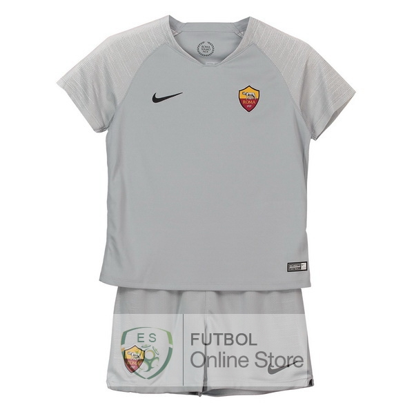 Camiseta As Roma Ninos 18/2019 Segunda