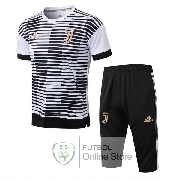 0463a81969370 Entrenamiento Juventus Conjunto Completo Negro Blanco 18 2019