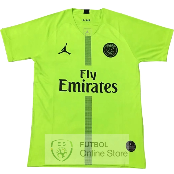 JORDAN Camiseta Paris Saint Germain 18/2019 Portero Verde