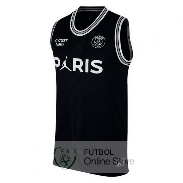 Camiseta Sin Mangas Paris Saint Germain 18/2019 Negro