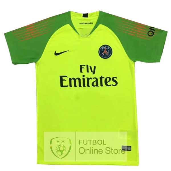 Camiseta Paris Saint Germain 18/2019 Portero Verde