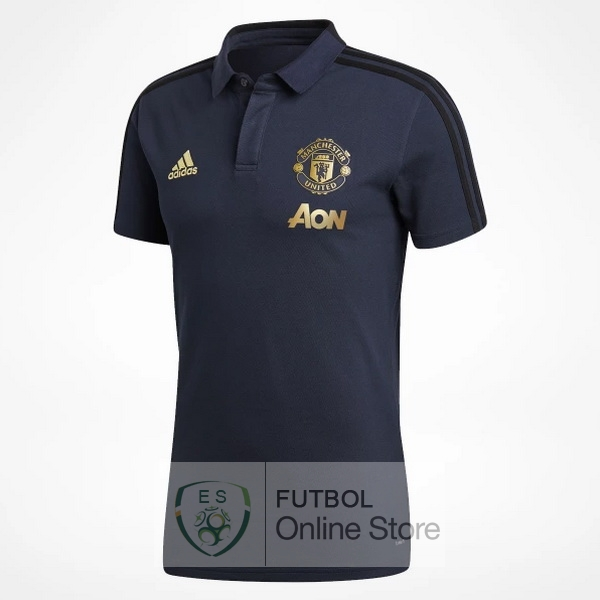 Polo Manchester United Azul 18/2019