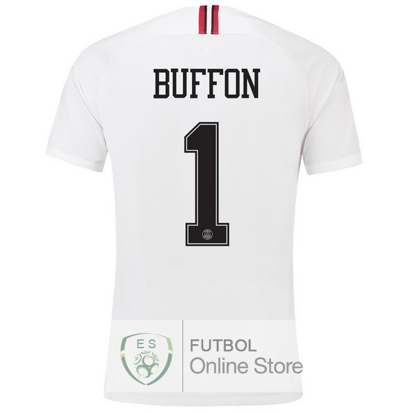 Camiseta Buffon Paris Saint Germain 18/2019 Tercera Segunda