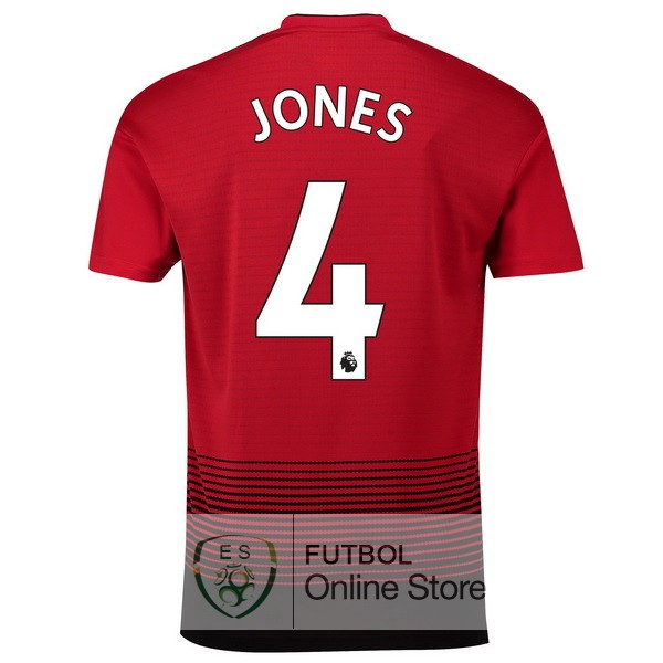 Camiseta Jones Manchester United 18/2019 Primera