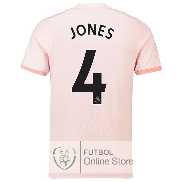 Camiseta Jones Manchester United 18/2019 Segunda