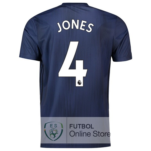 Camiseta Jones Manchester United 18/2019 Tercera