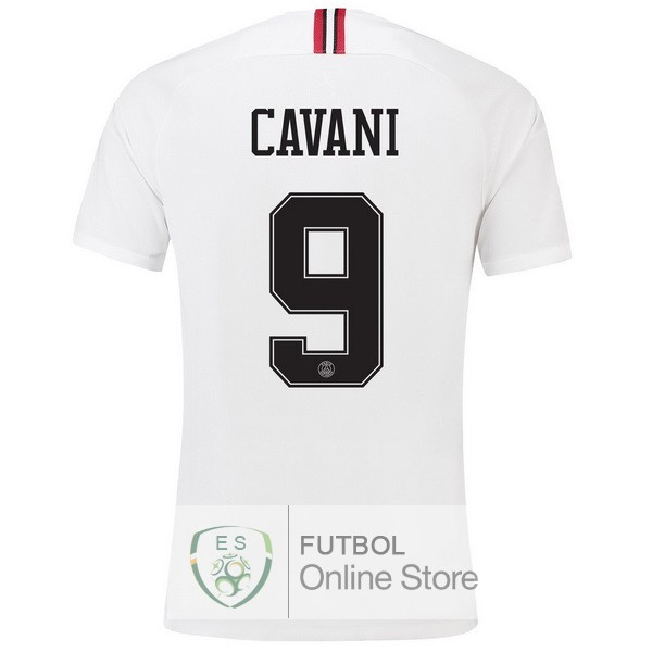 Camiseta Cavani Paris Saint Germain 18/2019 Tercera Segunda