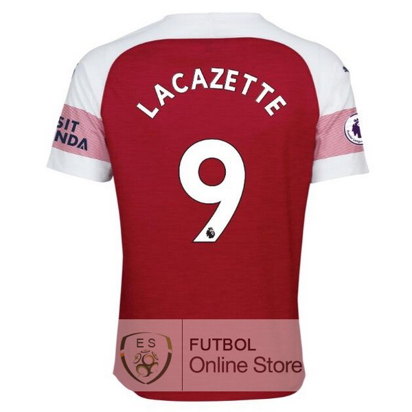 Camiseta Lacazette Arsenal 18/2019 Primera
