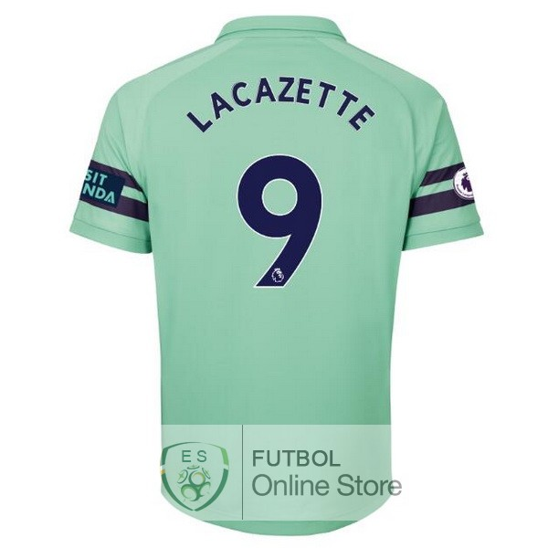 Camiseta Lacazette Arsenal 18/2019 Tercera