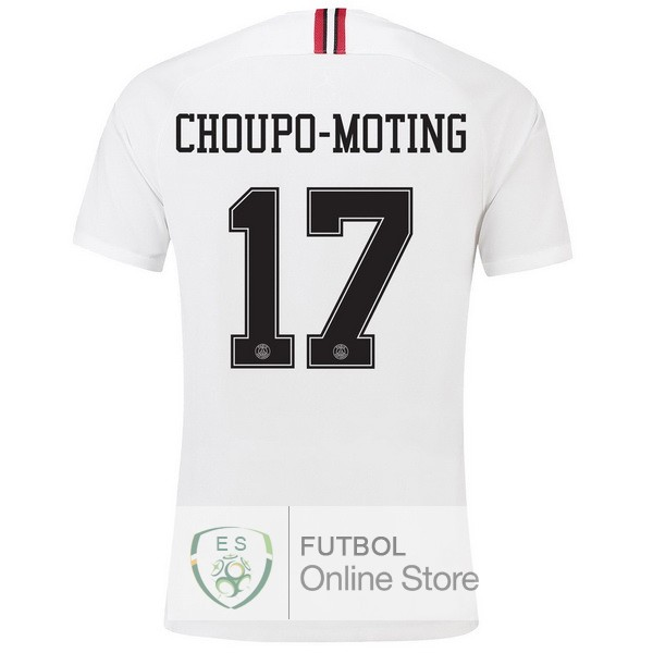 Camiseta Choupo Paris Saint Germain 18/2019 Tercera Segunda