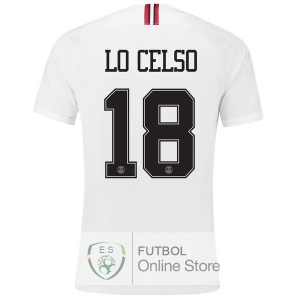 Camiseta Lo Celso Paris Saint Germain 18/2019 Tercera Segunda
