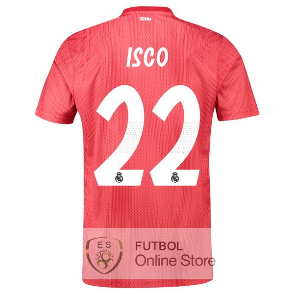 Camiseta Isco Real Madrid 18/2019 Tercera