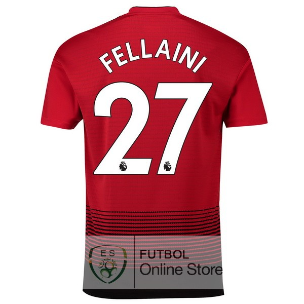 Camiseta Fellaini Manchester United 18/2019 Primera