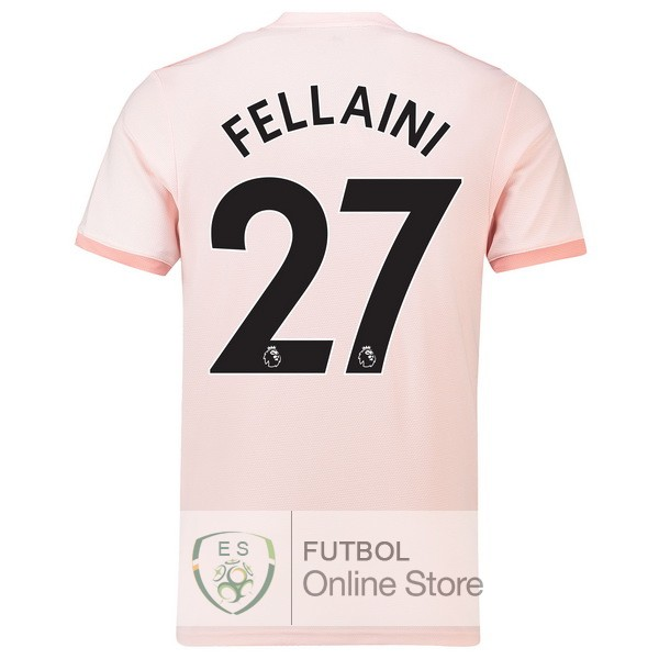 Camiseta Fellaini Manchester United 18/2019 Segunda