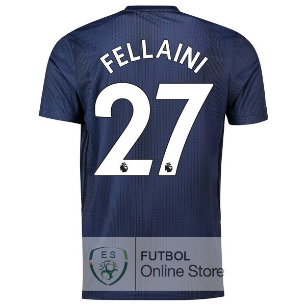 Camiseta Fellaini Manchester United 18/2019 Tercera