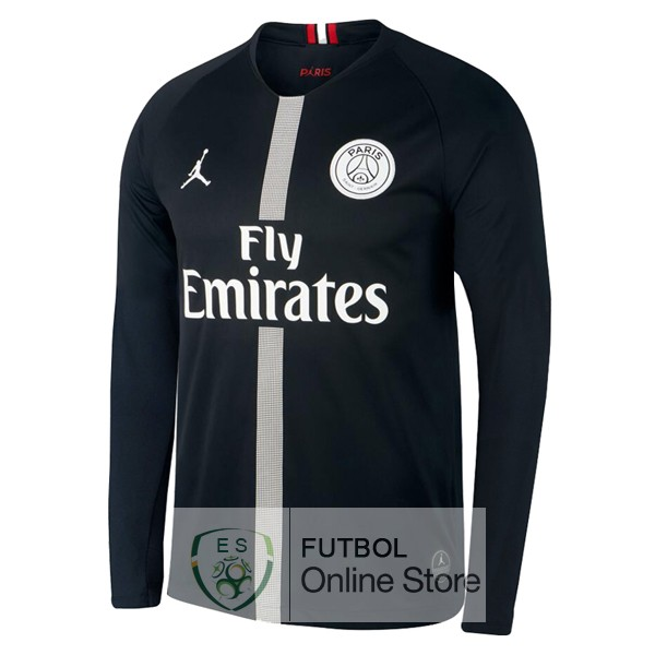 Camiseta Paris Saint Germain 18/2019 Manga Larga Tercera Primera