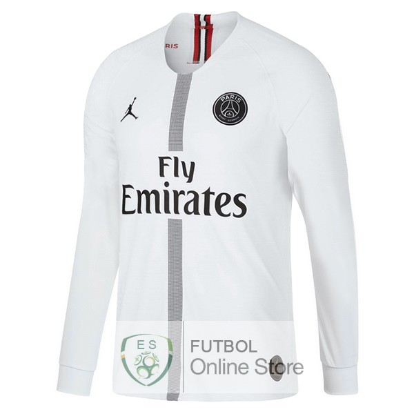 Camiseta Paris Saint Germain 18/2019 Manga Larga Tercera Segunda