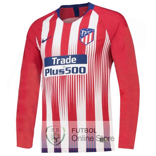 Tailandia Camiseta Atletico Madrid 18 2019 Manga Larga Primera bc7f8dd5c3f6e