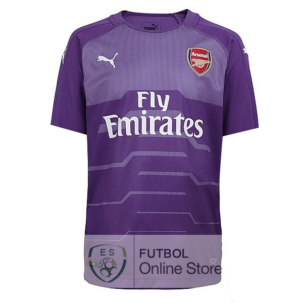 Camiseta Arsenal 18/2019 Portero Purpura