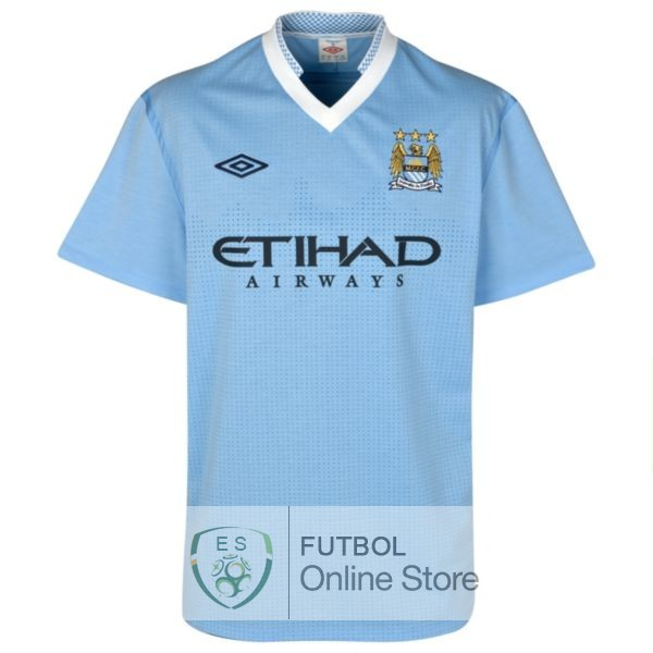 Retro Camiseta Manchester City 2011 2012 Primera