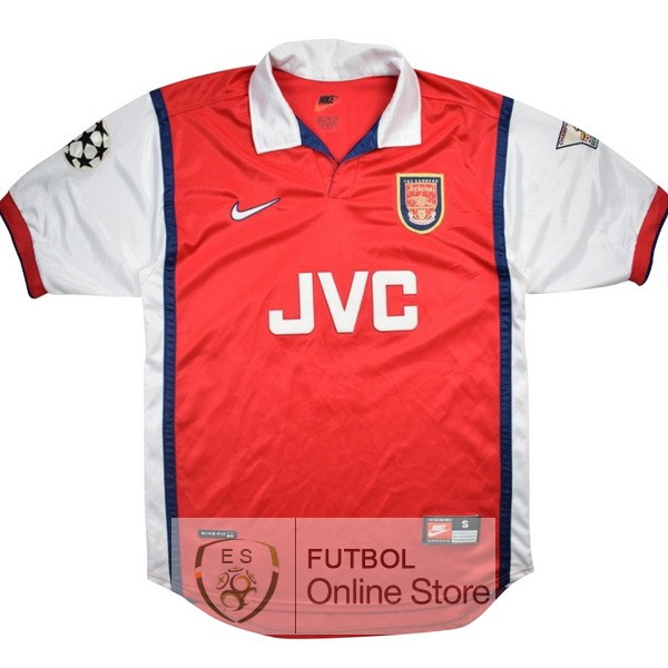 Retro Camiseta Arsenal 1998 1999 Primera