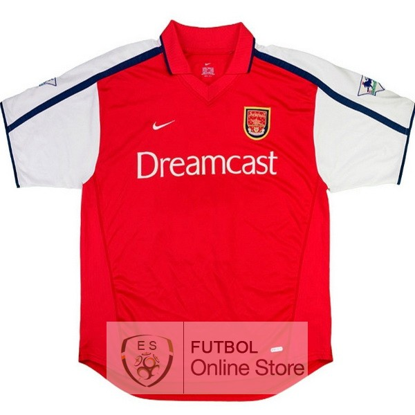 Retro Camiseta Arsenal 2000 Primera