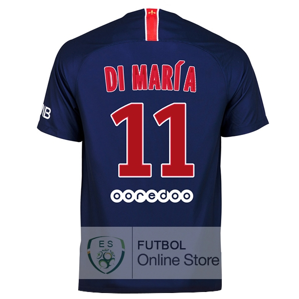 Camiseta Di Maria Paris Saint Germain 18/2019 Primera