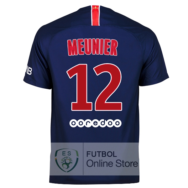 Camiseta Meunier Paris Saint Germain 18/2019 Primera
