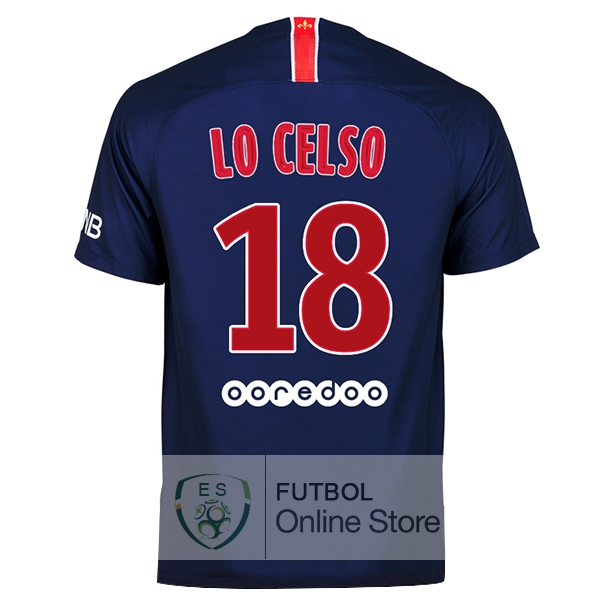 Camiseta Lo Celso Paris Saint Germain 18/2019 Primera