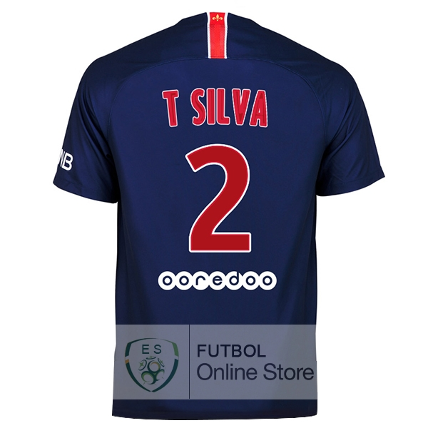Camiseta T Silva Paris Saint Germain 18/2019 Primera