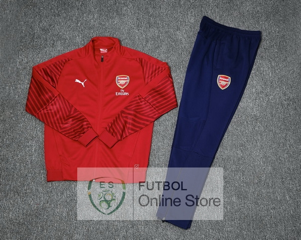2018/19 Rojo Chaqueta Ensemble Complet Arsenal