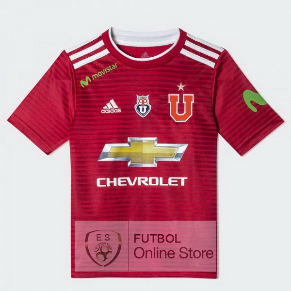 Camiseta Universidad 18/2019 Segunda