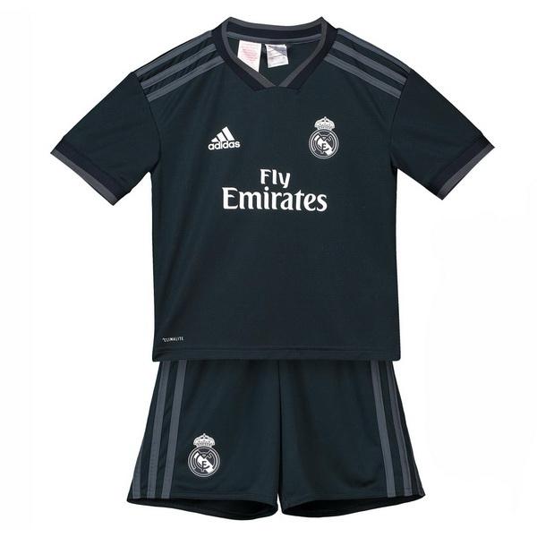 Camiseta Real Madrid Ninos 18 2019 Segunda Conjunto Completo 06427b9405c88