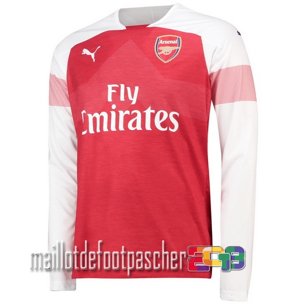 Camiseta Arsenal 18/2019 Manga Larga Primera