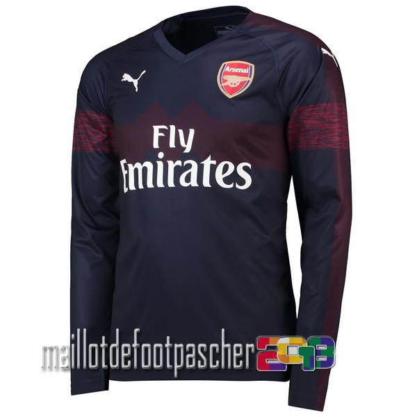Camiseta Arsenal 18/2019 Manga Larga Segunda