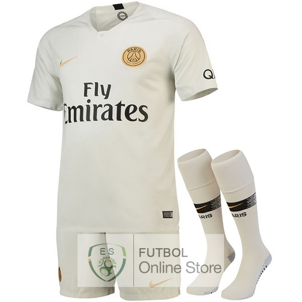 Camiseta Paris Saint Germain 18/2019 Segunda (Pantalones+Calcetines)