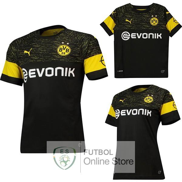 96bf7db02 Camiseta Borussia Dortmund 18 2019 Segunda (Mujer+Ninos)