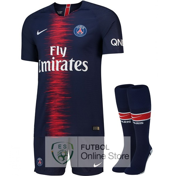 Camiseta Paris Saint Germain 18/2019 Primera (Pantalones+Calcetines)